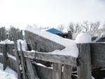 More piled snow